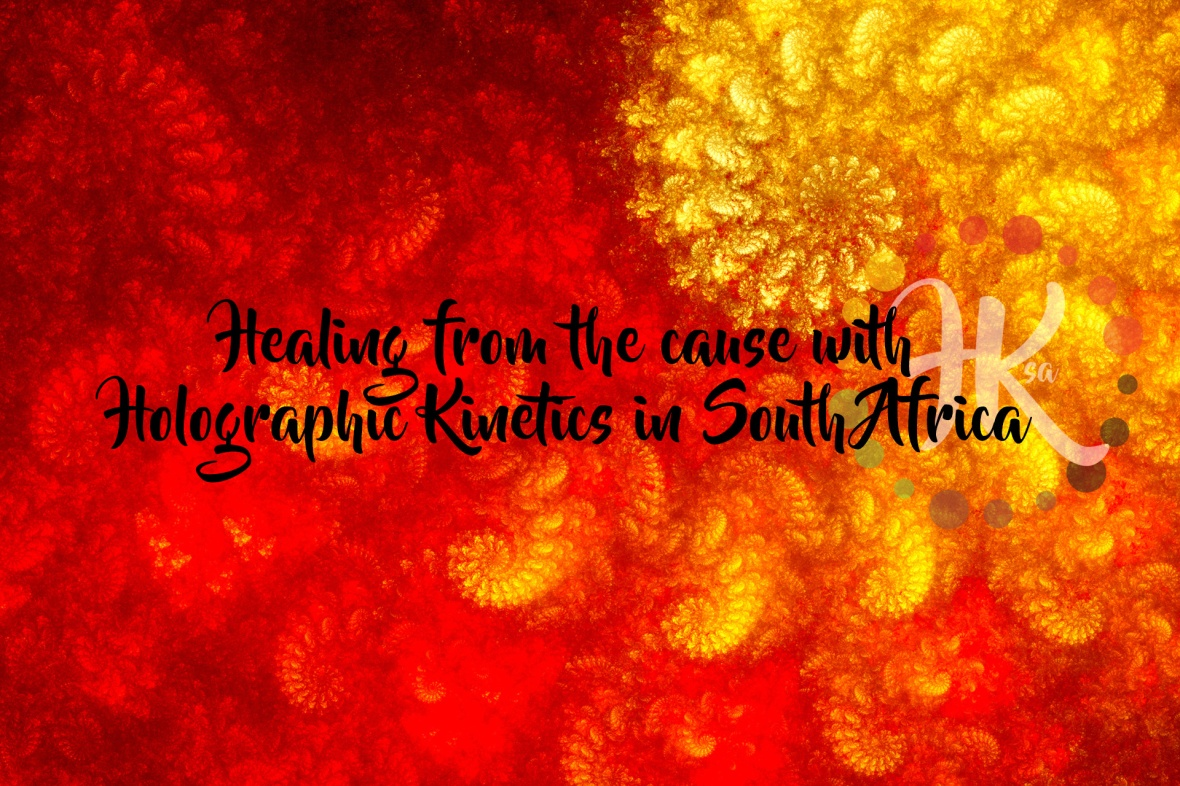 Healing from the cause with Holographic Kinetics in South Africa